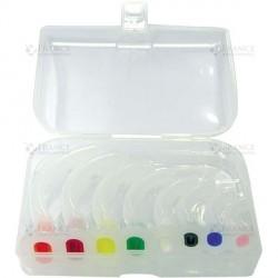 Boîte de 8 canules de Guedel non stériles rapide et facile à utiliser - 970441