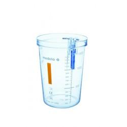 Bocal pour aspirateur 1,5 Litre Pc Pour poche à usage unique -077.0082