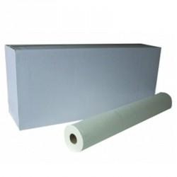 Draps d'examen ouate neutre 2x18g/m² - Carton de 6 rouleaux - 2 plis - 150 formats 50x38cm - C6113106