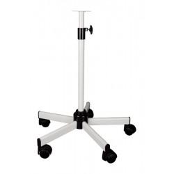 Fixations pour lampe d'examen avec pied Roulant Telecospique 60/100 cm - PIR00666