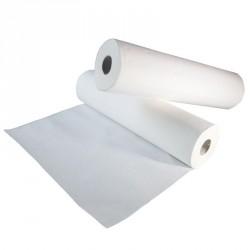 Demi draps d'examen standard ouate mélée 2x18g/m² - Carton de 24 - 2 plis - 150 formats - 25x38cm - J115LMR