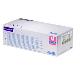 Boite de 100 Gants de soins vinyle Synsation™ non poudrés AQL1,5-313401
