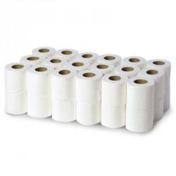 Papier toilette compact pure ouate 2x20g/m² - Carton de 36 rouleaux - 2 plis - I359LOT