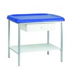 Table de pédiatrie  à Hauteur fixe avec Sellerie classique confortable  - PEDIA03