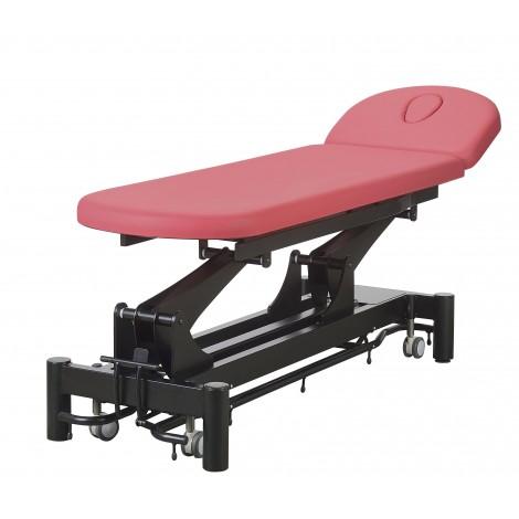 Table d'examen hauteur variable électrique 2 plans Têtière longueur 450mm - 777 03