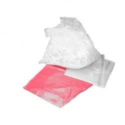 100 Sacs hydrosolubles Rouge soluble eau chaude Dimension 660 x 840 - 8207R