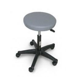 Tabouret Médical réglable en hauteur, assise simili cuir et pieds en plastique - OTA007