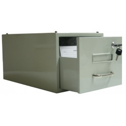 Fichier métal  Couleur  gris Capacité 1500 fiches - 4500011