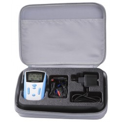 Electrostimulateur Tens Eco 2  canaux indépendants jusqu'a 100 mA - 104062